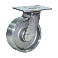 Колесо стальное (чугунное) поворотное (319) 100мм