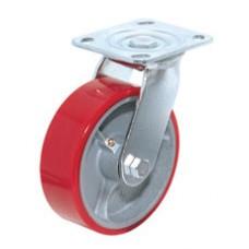 Полиуретановое колесо большегрузное поворотное SCp93 (304) 75x50 мм