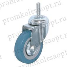 Аппаратное поворотное колесо болтовое крепление (M12) SCtg25 (101) 50 мм