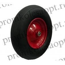 Бескамерное  колесо PU3018 10мм вспененный полиуретан (металлический диск)