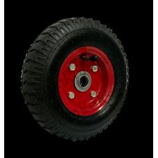 Пневматическое колесо PR1400 16мм несимметричное (металлический диск)