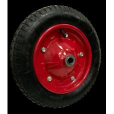 Колесо PR2400 16мм пневматическое (металлический диск)