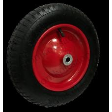 Колесо PR2400 16мм пневматическое (металлический диск) без болтов