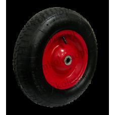 Колесо PR3000 16мм пневматическое (металлический диск)