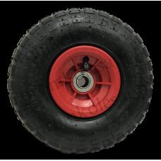 Пневматическое колесо PR1803 16мм несимметричное (пластиковый диск)