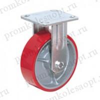 Полиуретановое колесо большегрузное неповоротное FCp92 (306) 75х50мм