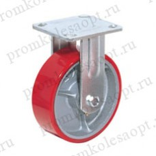 Полиуретановое колесо большегрузное неповоротное FCp46 (306) 100 мм