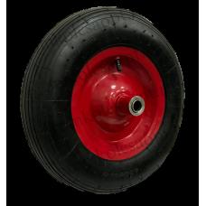 Колесо PR3006 16мм пневматическое (металлический диск)