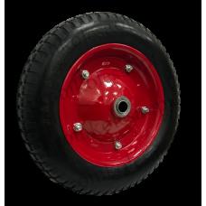Бескамерное  колесо PU2400 16мм вспененный полиуретан (металлический диск)