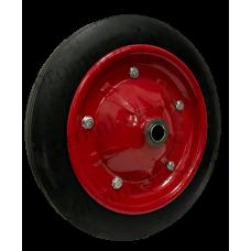Колесо на литой резине SR2500 16мм (металлический диск)