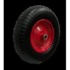Бескамерное  колесо PU3018 (400-8) -3 20 мм вспененный полиуретан