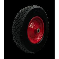 Бескамерное  колесо PU3018 (400-8) -2 20 мм вспененный полиуретан