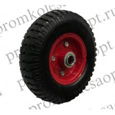 Бескамерное  колесо PU1401 16/20 мм вспененный полиуретан
