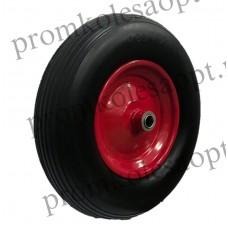 Бескамерное  колесо PU3018 (400-8) -1 20 мм вспененный полиуретан