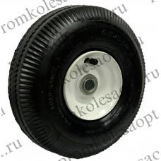 Пневматическое колесо PR1800 16мм несимметричное (металлический диск)