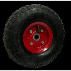 Пневматическое колесо PR1800-1 16мм несимметричное (металлический диск)