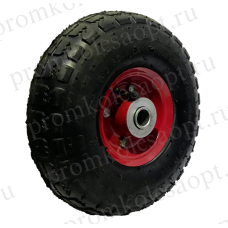 Пневматическое колесо PR1804 16мм (металлический диск)