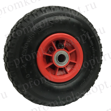 Пневматическое колесо PR1805 16мм (пластиковый диск)