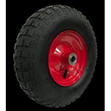 Пневматическое колесо PR2406 16мм симметричное (металлический диск)