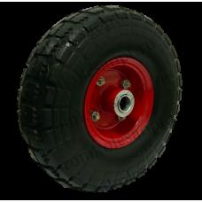 Бескамерное  колесо PU1804 16мм вспененный полиуретан (металлический диск)