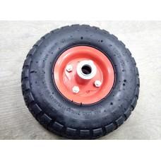 Колесо PR1800-1 16мм пневматическое несимметричное (металлический диск)