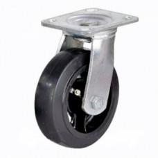 Колесо большегрузное поворотное обрезиненное SCd42 (301) 100 мм