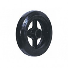 Колесо большегрузное обрезиненное без кронштейна D46 (405) 100 мм